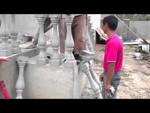 Изготовление бетонных балясин своими руками 73