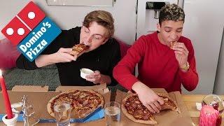 MAKING A PIZZA AT DOMINOS
