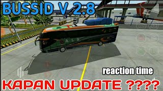 Segera update ! BUSSID V 2.8 Ada Sumatera ? | Reaction Time • BUSSID