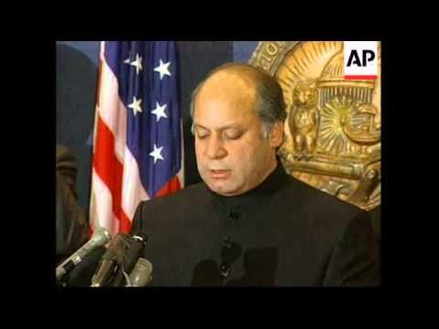 USA: PAKISTANI PRIME MINISTER MEETS DEFENCE SECRETARY
