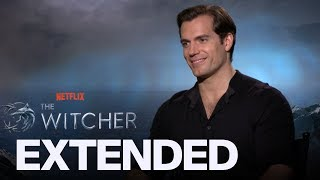 Henry Cavill Talks 'The Witcher', 'Game Of Thrones' Comparisons And 'Superman' | EXTENDED
