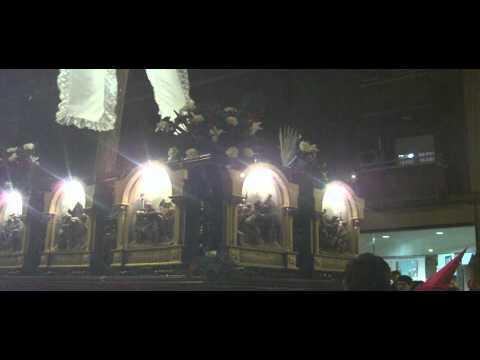 Procesión de Jesús del Perdón. Semana Santa Salamanca 2013