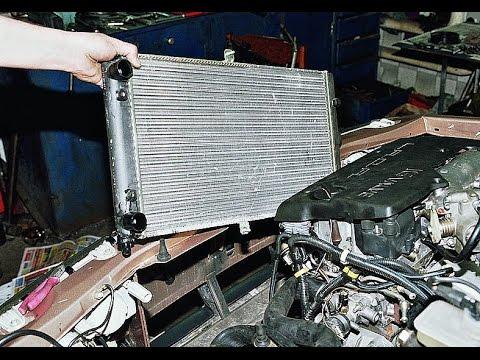Как снять радиатор на ВАЗ 2110, 2111, 2112