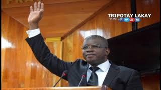 Senateur RONY Celestin: PHTK nan plato santral pa reprezante nan anyen nan gouvenman Jovenel Moise la