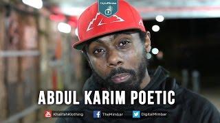 Poetry on the Sunnah – Abdul Karim