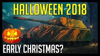 Halloween 2018 in World of Tanks ► Dark Front Halloween Mode - Christmas Came Early?