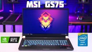 Игровой ноутбук MSI GS75 (i7-8750H, RTX 2080 Max-Q) Большой Обзор