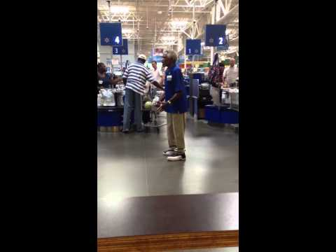 I work at the same Walmart as willie and I though I'd just film some of him. He loves his job and people love him. BAM!
