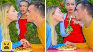 FUNNY DATE PRANKS! Friends DIY Prank On First Date
