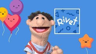 Timmy Uppet Loves The Rivet Reading App For Kids