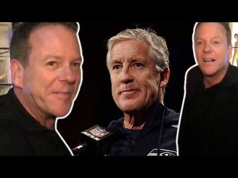 Kiefer Sutherland Defends Seahawk's Coach Pete Carroll