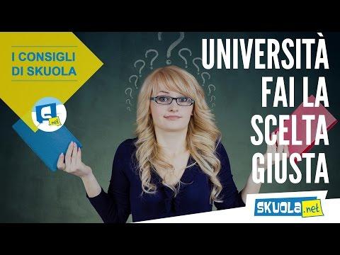 Università: come fare la scelta giusta!