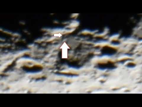 Live UFO Close Up's On The Lunar Surface Slowed Down