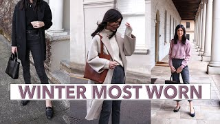 WINTER MOST WORN ITEMS (2019) - What I reached for the most (Minimal Style Wardrobe) | Mademoiselle