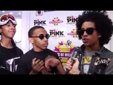 Mindless Behavior Launches a Shake at Millions of Milkshakes w Zendaya of Shake It Up