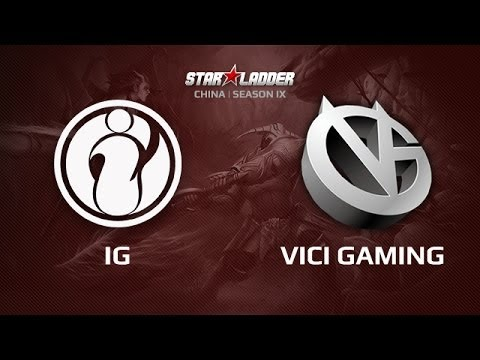 IG vs VG, Star Series China Day 2 Game 1
