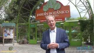 Pieter Hoff habla en Jardín Botánico Quito sobre plantar 2 mil millones hectáreas de árboles