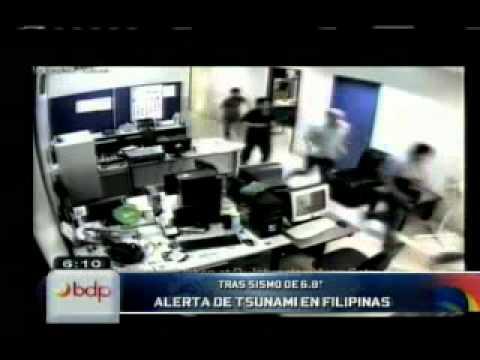 Filipinas: alerta de tsunami tras terremoto de 6,8 grados de magnitud