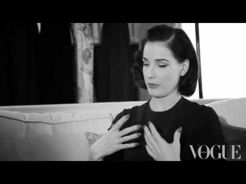 Dita Von Teese on real size women