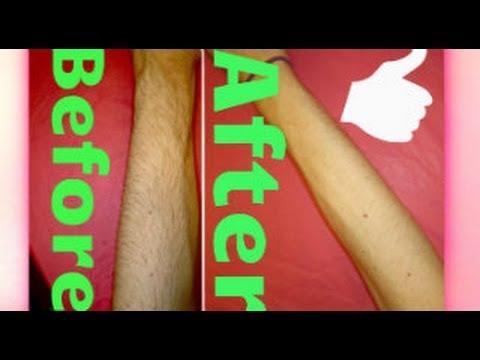 how to bleach arm hair or body hair youtube