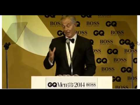 Fettes College's Blair accepts Philanthropist GQ award recently