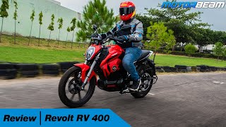 Revolt RV 400 Review - India's 1st AI Electric Bike | MotorBeam