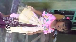 Anak Kecil Belajar Tari Topeng Indramayu Dea Apriani