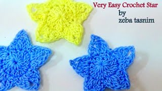 VERY EASY CROCHET STARS