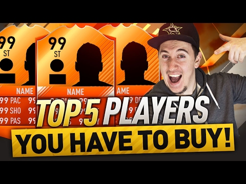 FIFA 17 - TOP 5 CHEAP ORANGE CARD BEASTS YOU NEED TO BUY!