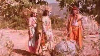 I love this scene from the movie Sampoorna Ramayan