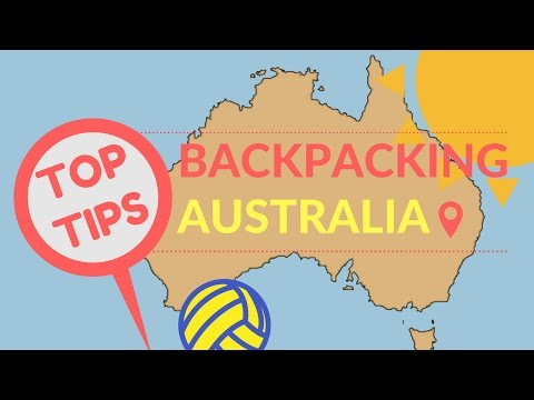 BACKPACKING AUSTRALIA TIPS