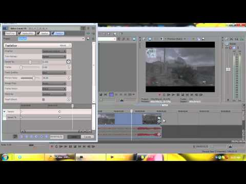 How to use Twixtor in Sony Vegas pro 10 | PriMe_Flux