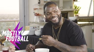 Cannabis Cooking With Martellus Bennett and Matt Barnes | Mostly Football