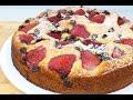 Strawberry & Chocolate Chip Cake