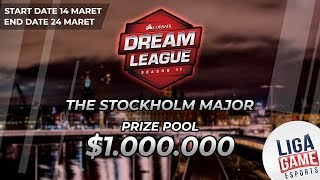 [DOTA 2] Fnatic VS Virtus Pro (BO3) - The Dreamleague Stockholm Major Main Event