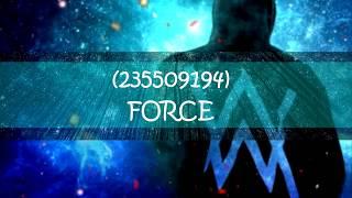 ROBLOX   ALAN WALKER (MUSIC CODES/IDS)