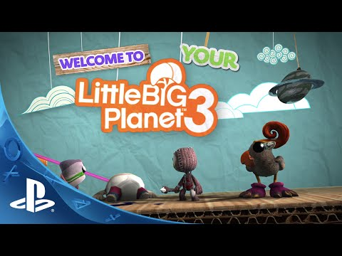 LittleBigPlanet 3 - Gamescom - Create and Share Trailer | PS4