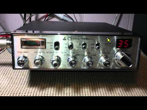 Local Talk CB Radio SSB Wolfey Magnum 257 & My Old Taiwan Cobra 148GTL