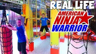 Best Ninja Warrior Course Birthday EVER!