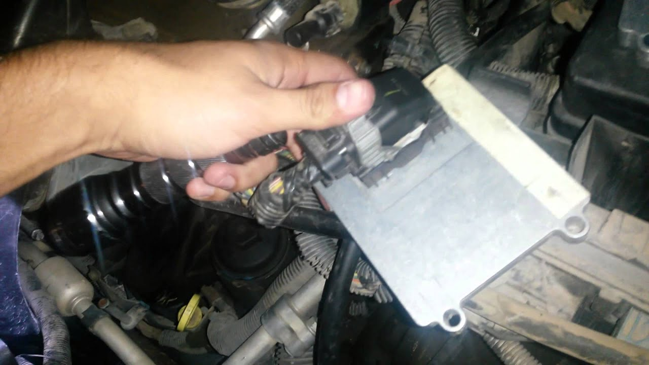 How to replace a Transmission Control Module  YouTube