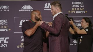 UFC 241: Media Day Faceoffs
