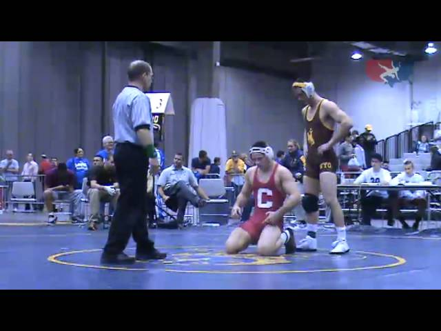 CLKV 165 - Shane Onufer (Wyoming) vs. Marshall Peppelman (Cornell)