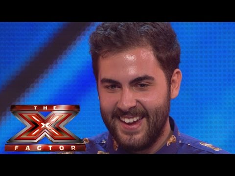 Andrea Faustini sings Try A Little Tenderness | Arena Auditions Wk 1 | The X Factor UK 2014