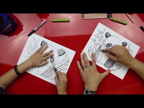 How To Draw A Panda Bear