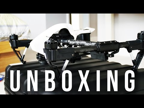 The DJI Inspire 1 Unboxing And First Look!