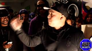 AHAT Rap Battle | Konflict vs The Deadman | Las Vegas vs Inland Empire