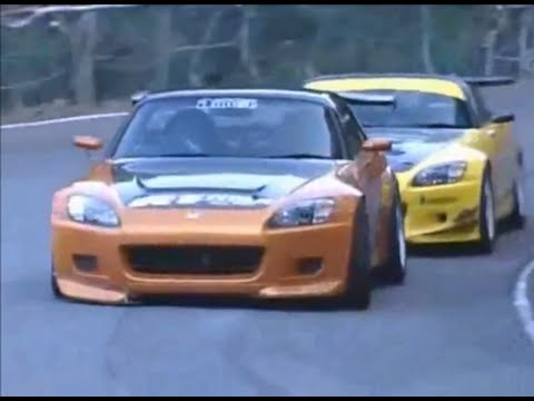 J's Racing S2000 vs Amuse S2000 First Ever Touge Battle