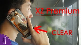XZ Premium Clear Back Cover --- FIRST | I made one myself