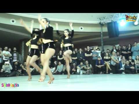 Ritmo Latino Ladies Show - Tdsf Adana 2.Etap Salsa Yarışması After Party - 2016