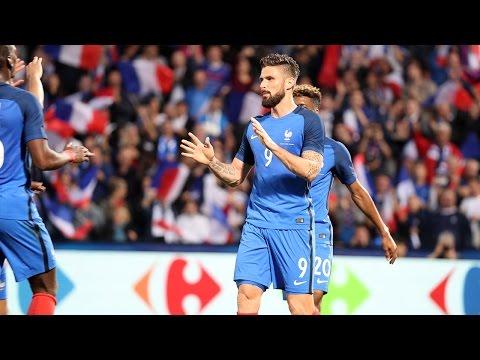 France-Ecosse : 2-0, le deuxième but d'Olivier Giroud